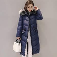 warm thicken artificial fur hooded women winter jacket cotton padded outerwear female parka long womens coat