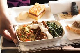 air new zealand premium economy meal