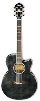 <b>Гитара электроакустическая Ibanez</b> AEG20E Transparent Gray