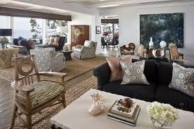 contemporary living room by harte brownlee associates interior design