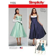Vintage Simplicity Patterns Adorable Simplicity Pattern 48 Miss And Miss Plus Vintage 48s Dress