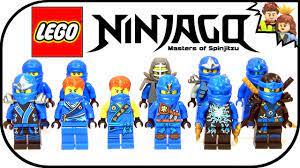 LEGO Ninjago Jay Ultimate Ninja Collection 2015 - BrickQueen - YouTube