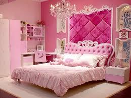 Classic princess bedroom pink color design
