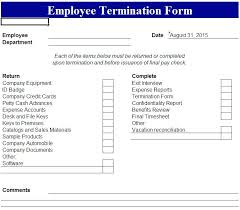 Student Employee Termination Letter Sample Form Template – Stiropor Idea