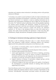 teachers essay on ict  2 education and