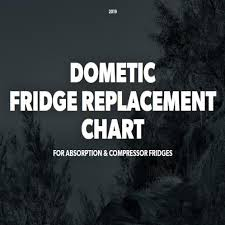 Dometic Replacement Chart Fridge Replacement Chart Leisure Spares