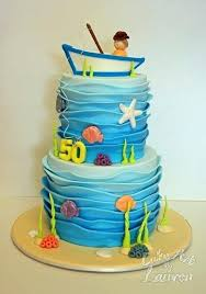 Fishing Cakes Ideas Tekhno
