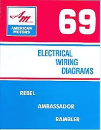 1969 69 amc javelin & amx wiring diagram manual ebay 1973 amc javelin wiring diagram at Amc Amx Wiring Diagram