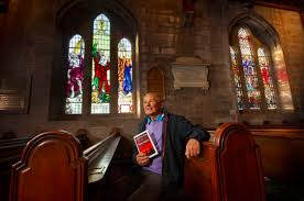 paul reid church elder archie milne s new booklet on the history of brechin cathedral s stained glass windows