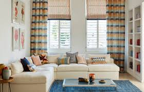 use blinds and curtains