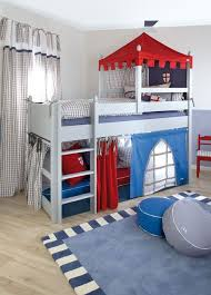 Boys Bed/ Knight's Castle Cabin Bed / Designer Mid Sleeper Beds | For Liam  | Pinterest | Bedrooms, Kids rooms and Room