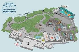 oregon coast aquarium map