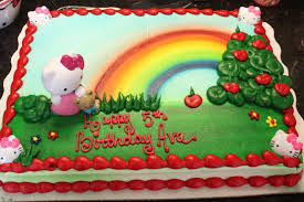 half sheet cake price walmart hello kitty birthday cake target image inspiration of cake and