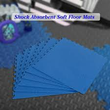 6 pcs 60 60cm protective floor mat anti fatigue interlocking eva foam exercise gym flooring