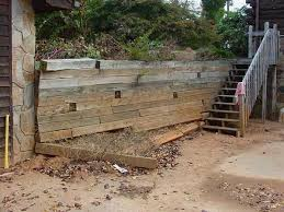 small yards made big with retaining walls