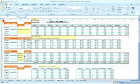 Template Business Plan Spreadsheet Template Annual Marketing Budget