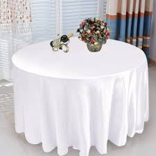 round tablecloths wedding decorative table decoration