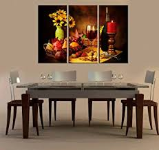 dining room wall art amazon. red grape wine paintings modern giclee artwork wall art painting home decor pictures for living room dining amazon m