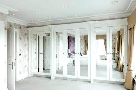 mirror closet doors door mirrored new sliding rough opening