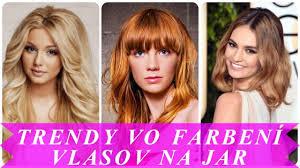 Najnovšie Trendy Vo Farbení Vlasov Na Jar 2018 Free Download Video