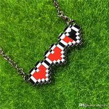 whole 2016 legend of zelda health bar necklace red heart pendants anime jewelry for men women gift 160002 pendants and necklaces gold chains