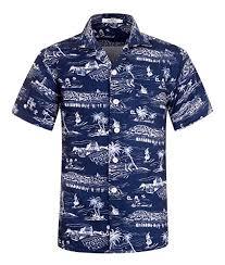 <b>Men's Hawaiian Shirt</b> Short Sleeve Aloha <b>Shirt</b> Beach Party <b>Flower</b> ...