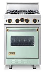 stove 24 inch. viking 24 inch pro-style gas range with 4 open burners w/ varisimmer, cu. proflow convection oven, gourmet-glo infrared broiler and electric re-ignition: stove