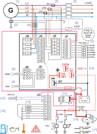 diesel generator control panel wiring diagram gr pinterest jp 1-02 at Theater Air Control System Diagram