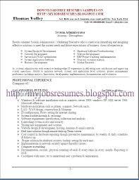 Clinical Officer Sample Resume Custom Sample Resume Linux Experience Fruityidea Resume