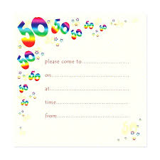 Surprise 50 Birthday Invitations Surprise Party Template