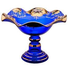 """<b>Фруктовница 30 см</b> н/н волна """"Лепка синяя"""" / 004855 купить в ..."""