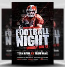 football flyer templates american football flyer templates for football events flyerheroes