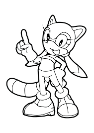 Sonic Amy Coloring Pages At Getdrawingscom Free For Personal Use