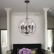 industrial metal chandelier