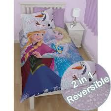 Frozen Crystal Single Duvet Cover - Reversible Bedding & Disney Frozen Crystal Single Duvet Cover - Reversible Bedding Adamdwight.com