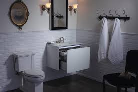 traditional bathroom designs 2012. Vintage With A Twist, This Timeless Bathroom Features The Neo-traditional Tresham Toilet, Clean White Subway Tile And Glass-topped Compact Vanity. Traditional Designs 2012