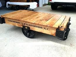 factory cart coffee table factory cart coffee table builds you factory cart coffee table uk