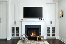 tv stand over fireplace attractive built in cabinet over fireplace 2 terrific fireplace built in cabinets tv stand over fireplace
