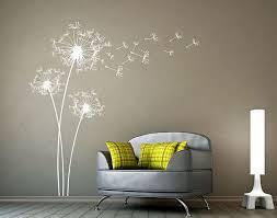 large dandelions wall decal dandelion