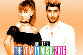 Best Of 2016 The Year In Chart Feats From Ariana Grande To
