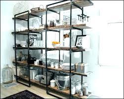 kitchen wall shelving units shelves decorative rustic sh