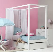 Kids canopy bed (girls) - Vibel | Room with me | Kids canopy, Kids ...