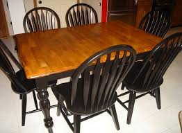 Refinishing A Kitchen Table Refinished Kitchen Table Ideas Miserv
