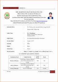 Resume Format For Pharmacy Graduates Pharmacist Resume 2017