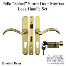 R Pella Select 6000 Series Mortise Lock Storm Door Hardware  Choose Color