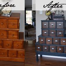apothecary style furniture. Vintage Style Apothecary Cabinet Before \u0026 After Furniture