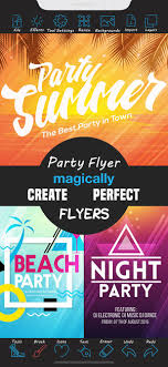 How To Create A Party Flyer Party Flyer Creator On The App Store