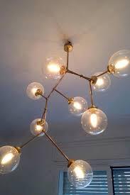 bubble light fixture 9 ceiling lamp branching bubble light