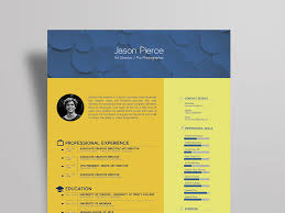 Free Art Director Resume Template With Stylish Design