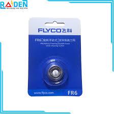 Bộ 3 lưỡi dao máy cạo râu Flyco FR6, giá tốt nhất 149,000đ! Mua nhanh tay!